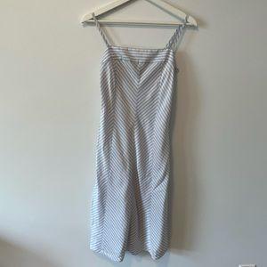 Tommy Hilfiger Striped Midi Dress
